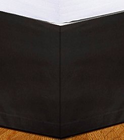 Donna Sharp® Just Black Flanged Bedskirt
