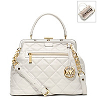 MICHAEL Michael Kors® Griffith Quilt Large Satchel
