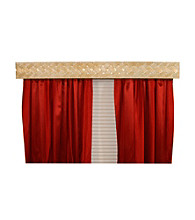 BCL Drapery Hardware Braid Curtain Rod Valance