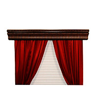 BCL Drapery Hardware Halsted Double Curtain Rod Cornice