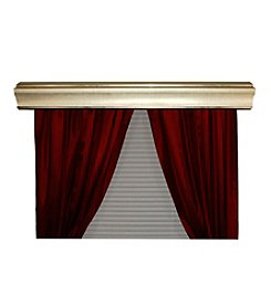BCL Drapery Hardware Baxter Double Curtain Rod Cornice