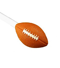 BCL Drapery Hardware Football Ball Curtain Rod