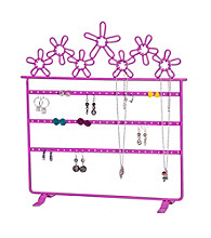 Mele & Co. Flora Metal Daisies Jewelry Stand in Pink