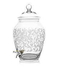 Fifth Avenue Crystal Ltd.® Grahamsville Glass Beverage Dispenser