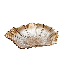 Fifth Avenue Crystal Ltd.® Venezia Gold Flower Tray