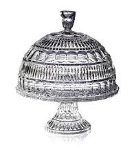 Fifth Avenue Crystal Ltd.® Princeton Pedestal Cake Plate with Dome