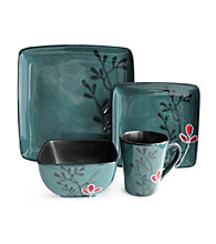 American Ateliers Elise Blue 16-pc. Dinnerware Set