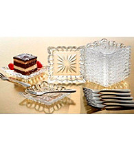 Crystal Clear® Alexandria 25-pc. Taster Plate Set