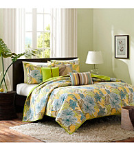Tahiti 6-pc. Coverlet Set by Madison Park®