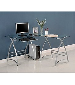 W.Designs Alexa L-Shaped  Computer Desk