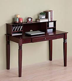 W.Designs Katelyn Elegant Wood Computer Desk Collection