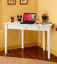 W.Designs Natalie Wood Corner Computer Desk