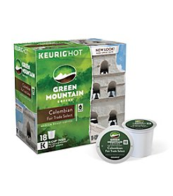 Keurig Green Mountain Coffee® Colombian Fair Trade Select 18-pk. K-Cups®