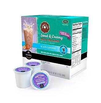 ... Donut Shop® Sweet & Creamy Nutty Hazelnut Iced Coffee 16-pk. K-Cups