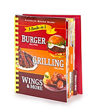 3-in-1 Grilling Cookbook