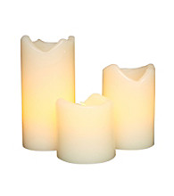 Gerson 3-pc. LED Flameless Candles with Timer