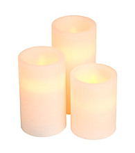 Gerson 3-pk. LED Flameless Candles with Timer
