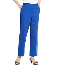 Alfred Dunner® Stretch Waistband Solid Short Pant