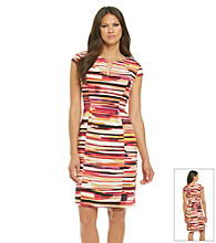 Calvin Klein Printed Hardware Dress