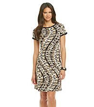 Calvin Klein Printed T-Shirt Dress