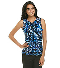 Anne Klein® Watercolor Print Blouse