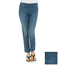 Anne Klein® Medium Wash Skinny Jean