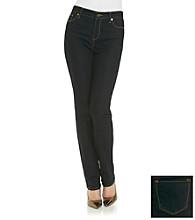 Anne Klein® Dark Wash Straight Denim Pant