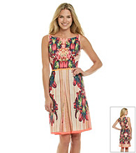 T Tahari® Phoebe Printed Dress