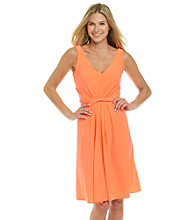 T Tahari® Twisted Front Divina Dress