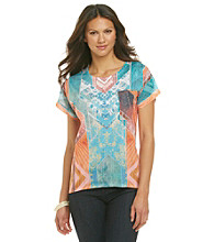 Oneworld® Sequin Print Tee