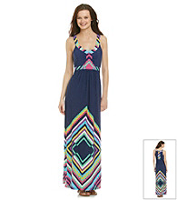 Oneworld® Zigzag Maxi Dress