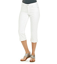 Not Your Daughter's Jeans® Alyssia Rhinestone Crop