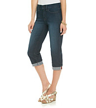 Not Your Daughter's Jeans® Edna Selvage Roll-Cuff Crop