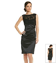 Xscape Lace Bodice Dress