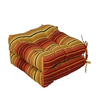Greendale Home Fashions Set of Two Kinnabari Stripe 20