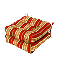 Greendale Home Fashions Set of Two Roma Stripe 20