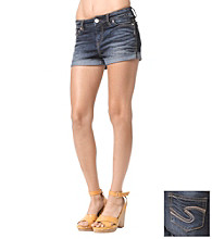 Silver Jeans Co. Nova Straight Fit High-Rise Short