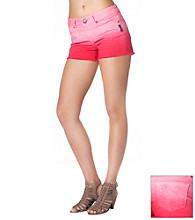 Silver Jeans Co. Straight Fit Mid-Rise Toni Short