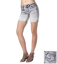 Silver Jeans Co. Straight Fit Mid-Rise Sammy Short