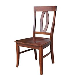 International Concepts Cosmo Set of 2 Verona Wood Dining Chairs