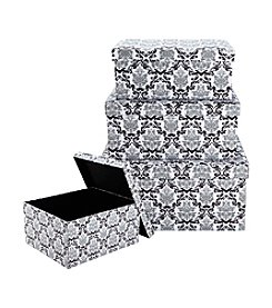 Laura Ashley® 3-pc. Delancy Nested Boxes with Lids