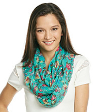 The Accessory Collective Floral Scarf