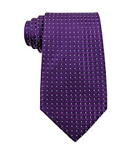 Kenneth Roberts Platinum® Men's Purple Parquet Solid Tie