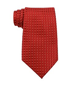 Kenneth Roberts Platinum® Men's Red Parquet Solid Silk Tie