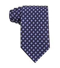 Izod® Men's Navy Core Neat Silk Tie
