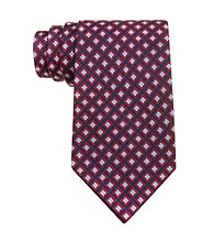Izod® Men's Red Core Neat Silk Tie