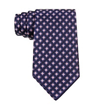 Izod® Men's Pink Core Neat Silk Tie