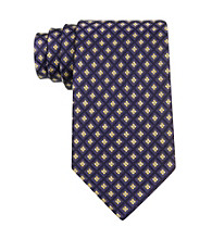Izod® Men's Yellow Core Neat Silk Tie