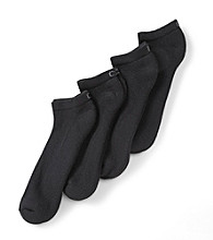 Calvin Klein Men's 4-Pack Athletic Sport Low Cut Socks