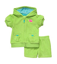 Carter's® Baby Girls' Green Short Sleeve Cardigan Set